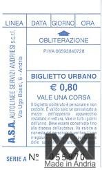 Trasporti urbani ad Andria: tutte le informazioni