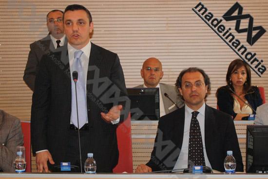 Provincia di Barletta-Andria-Trani: seduta consigliare del 17/05/2010