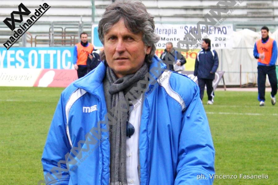 Fidelis Andria, è Aldo Papagni il nuovo allenatore dei biancoazzurri