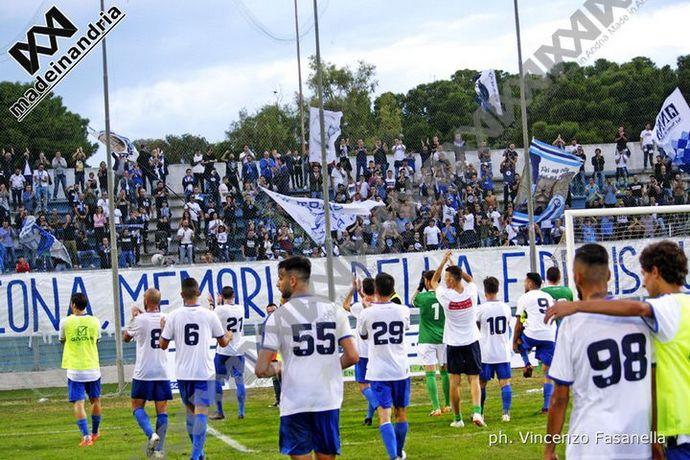Fidelis Andria - Ercolanese 1-0. Arriva la prima vittoria stagionale