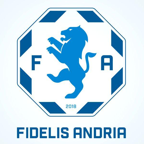 Fidelis Andria, presentato il logo della neonata società biancoazzurra