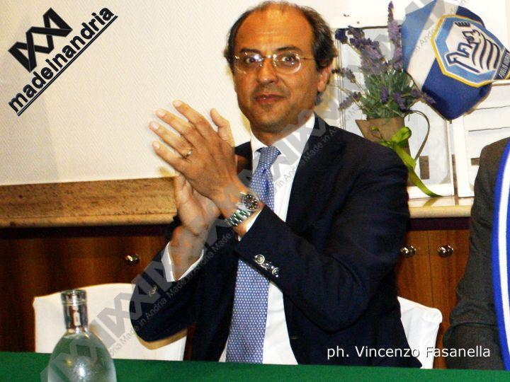 Fidelis Andria, il sindaco Giorgino ha chiesto l'ammissione alla Serie D