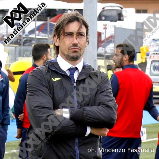 Fidelis Andria, è Luigi Panarelli il nuovo allenatore della squadra biancoazzurra
