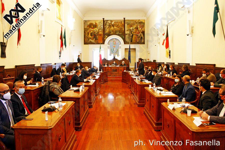 Andria, prima seduta Consiglio comunale. Le foto