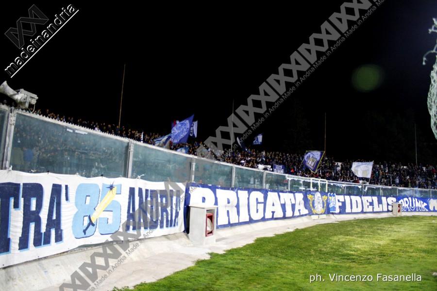 Fidelis Andria - Messina 0-1, le foto