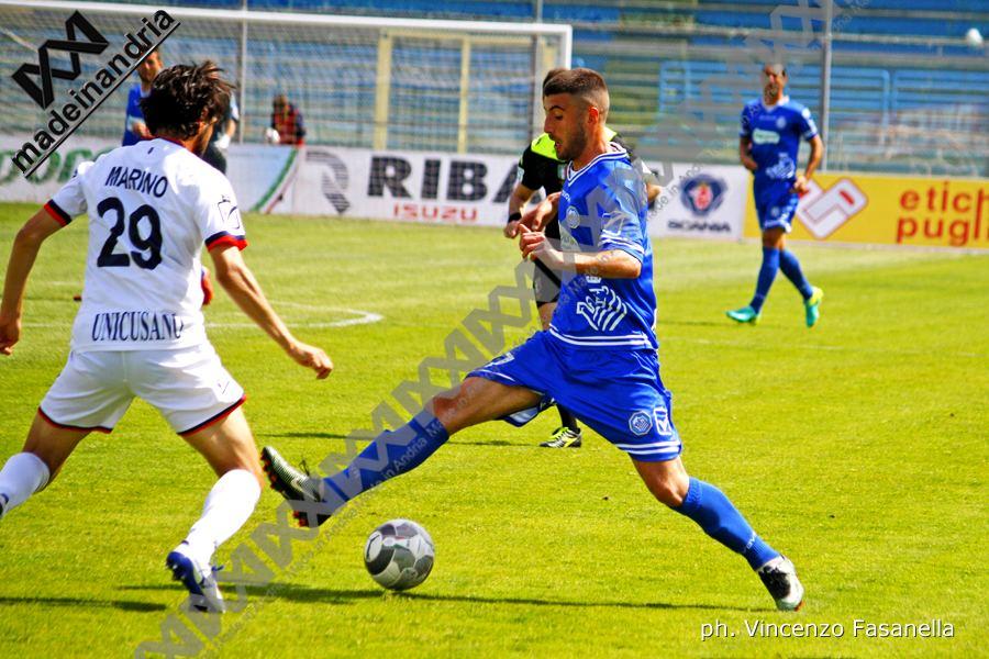 Fidelis Andria - Fondi 0-1, le foto