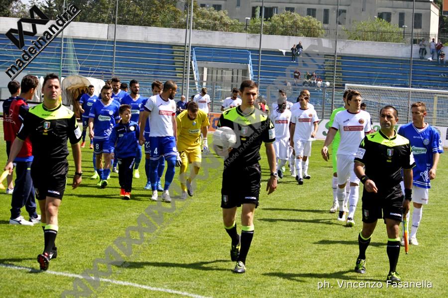 Fidelis Andria - Reggina 1-1, le foto