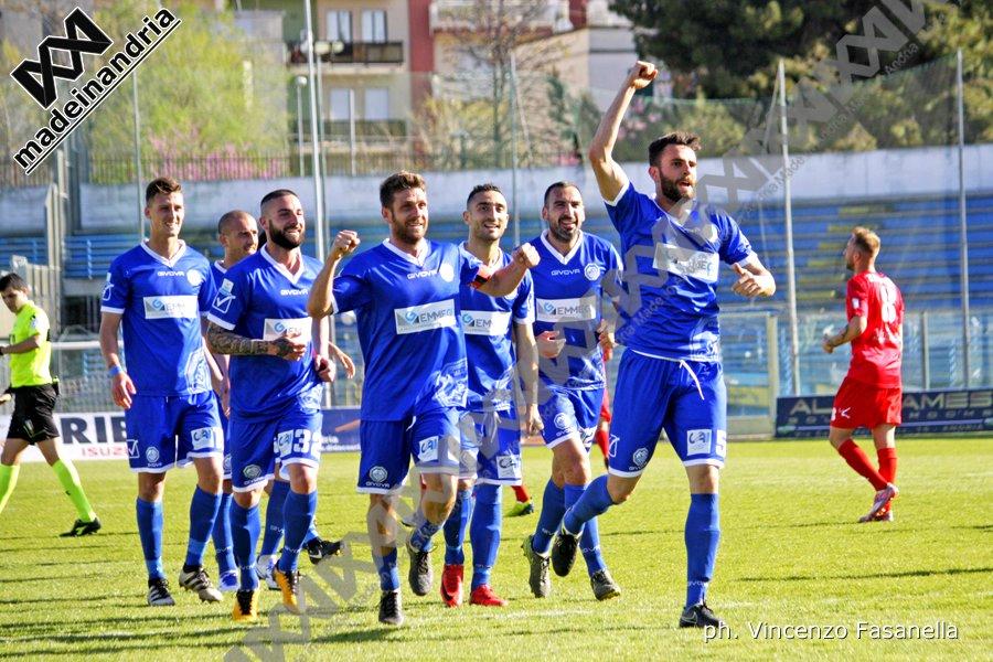 Fidelis Andria - Akragas 1-0, le foto