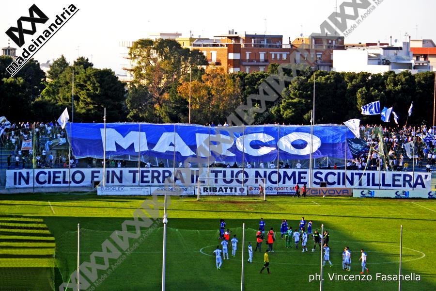 Fidelis Andria - Matera 0-1, le foto