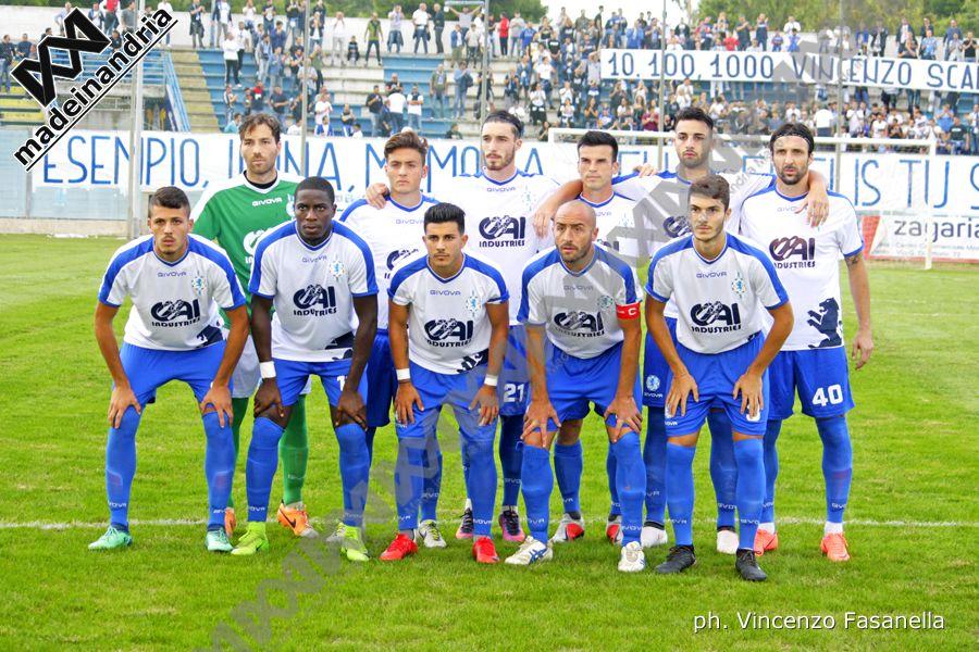 Fidelis Andria - Ercolanese 1-0, le foto