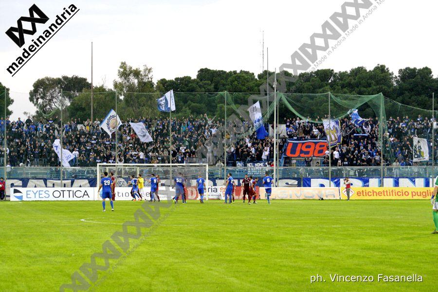 Fidelis Andria - Pomigliano 2-0, le foto