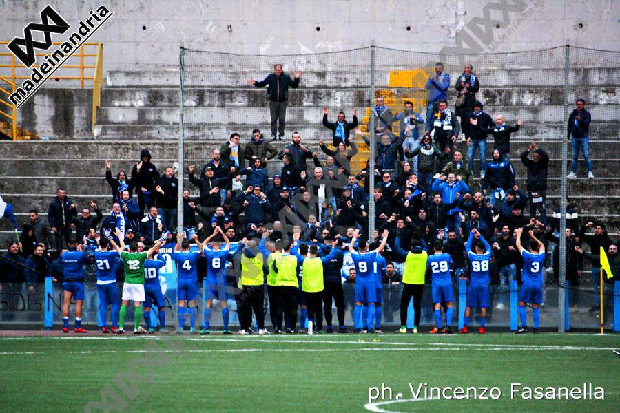 Savoia - Fidelis Andria 1-1, le foto