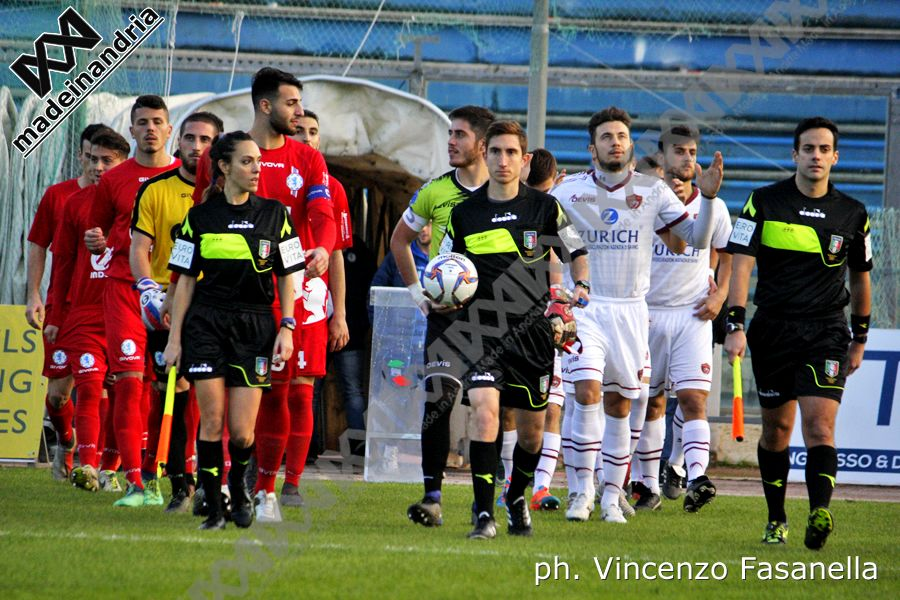 Fidelis Andria - Sarnese 3-0, le foto