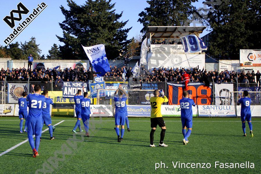 Gravina - Fidelis Andria 4-1, le foto