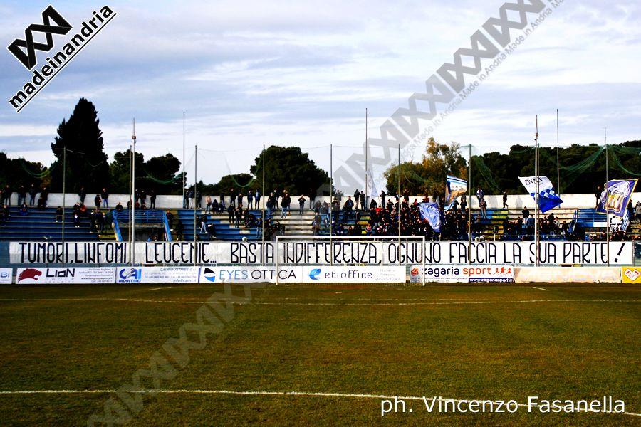 Fidelis Andria - Francavilla 1-0, le foto
