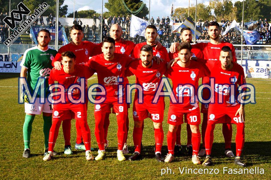Fidelis Andria - Sorrento 2-1, le foto