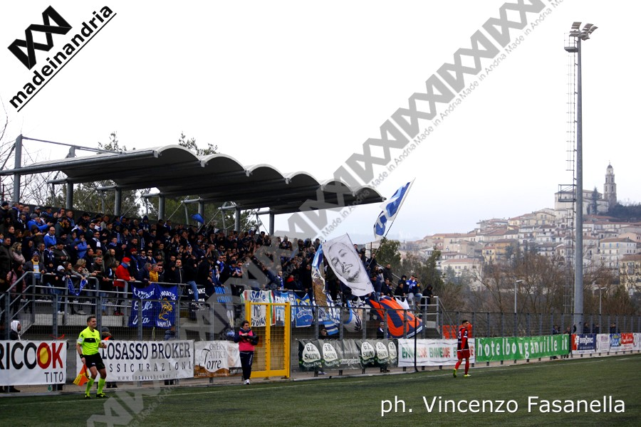 Picerno - Fidelis Andria 1-0, le foto