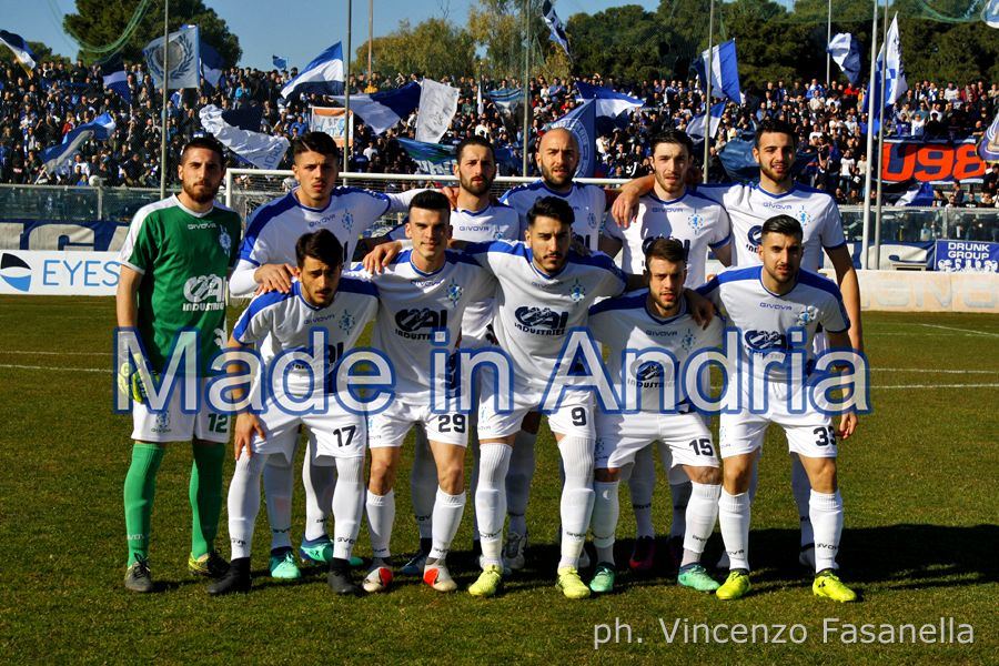 Fidelis Andria - Taranto 1-1, le foto