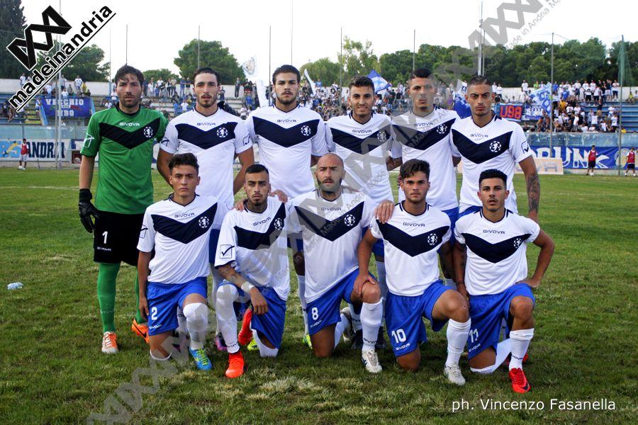 Fidelis Andria - Fasano 0-0 (2-4 dcr), le foto