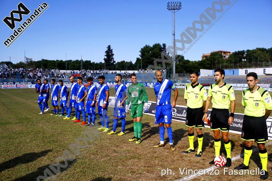 Fidelis Andria - Audace Cerignola 0-0, le foto