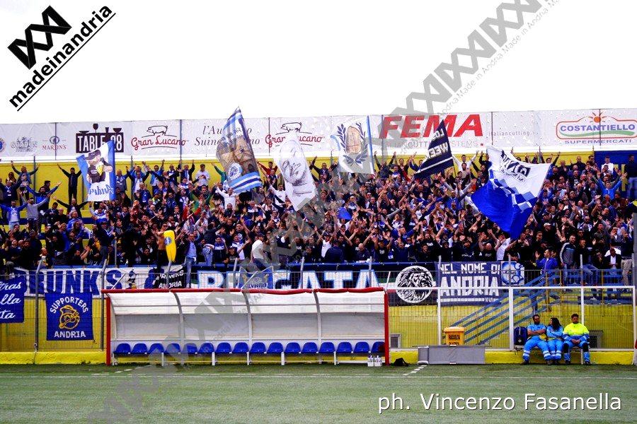 Fidelis Andria - Brindisi 3-2, le foto