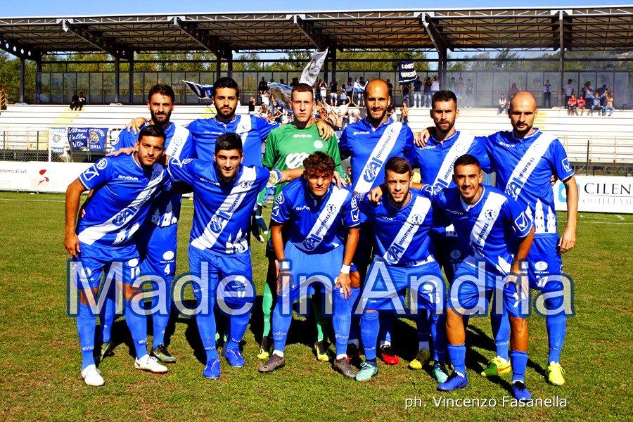 Agropoli - Fidelis Andria 0-3, le foto