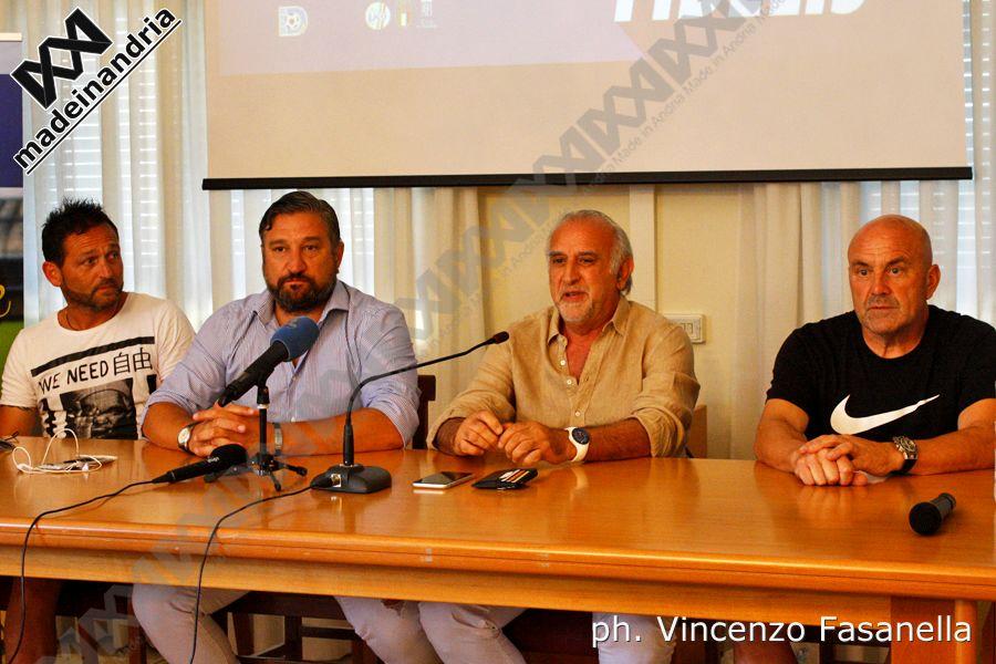Fidelis Andria, interrotta la collaborazione con l'allenatore Favarin e il ds De Santis