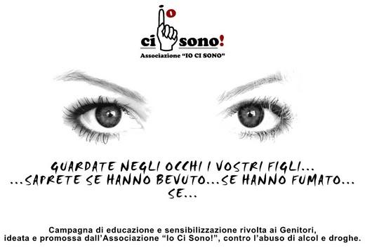 """campagna ideata e promossa dall'Associazione """"Io Ci Sono!"""""""