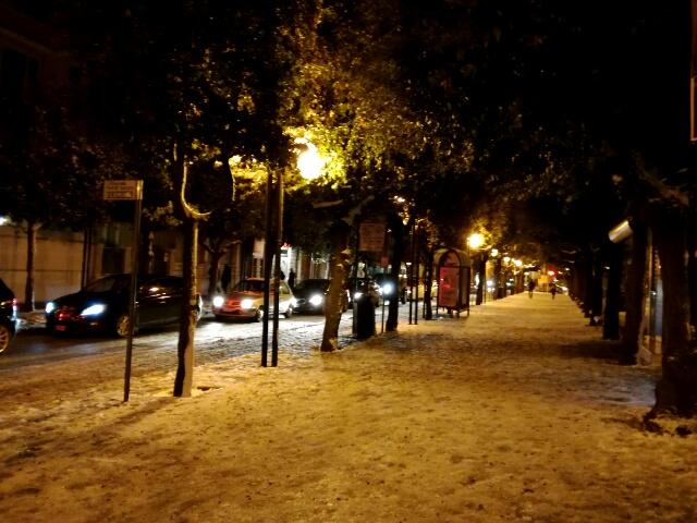 Andria e l'incantesimo della neve