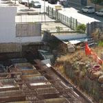 Il cantiere fantasma dello Iacp, nel Quartiere Europa, come un grande circo all'aperto