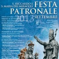 14, 15 e 16 settembre: Festa Patronale di Andria, programma religioso e folkloristico